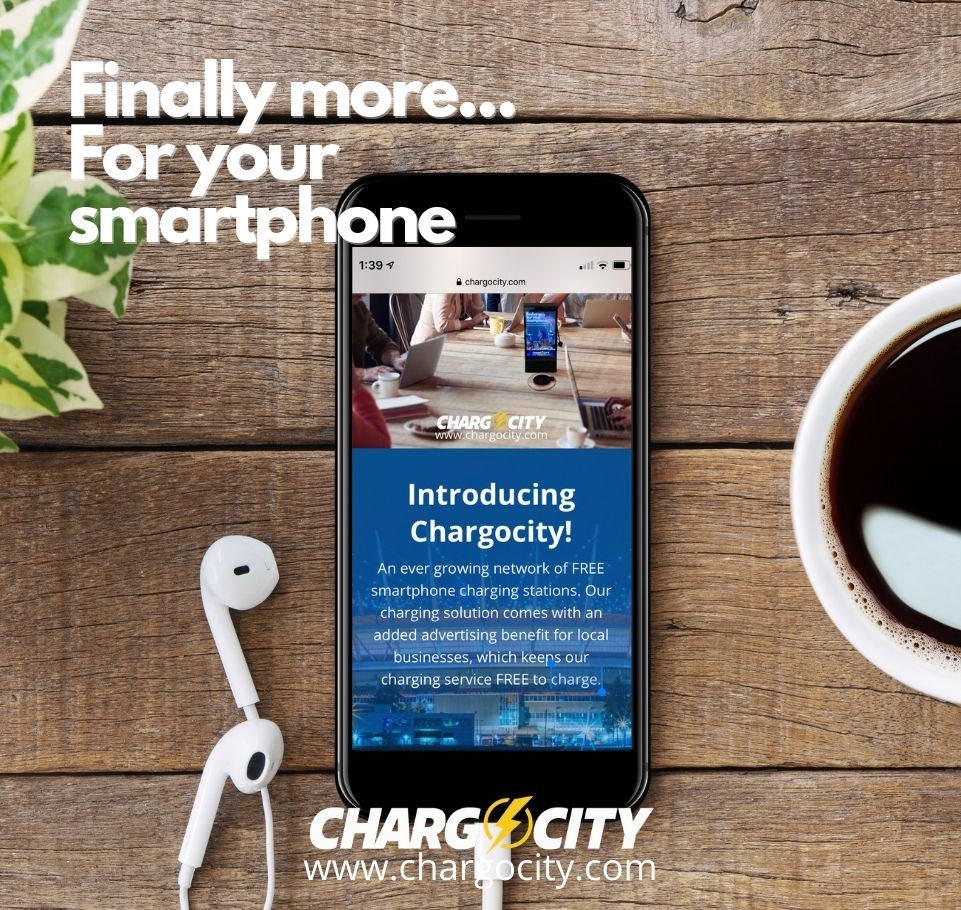 Chargocity - Free mobile charging stations